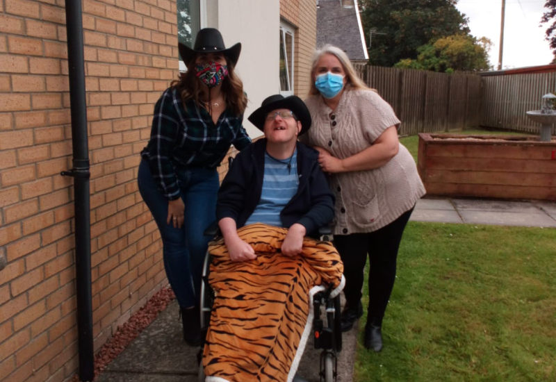 Creating Smiles at Lanarkshire Houses