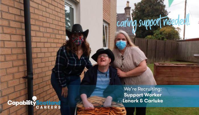Lanark Houses Support Worker 2