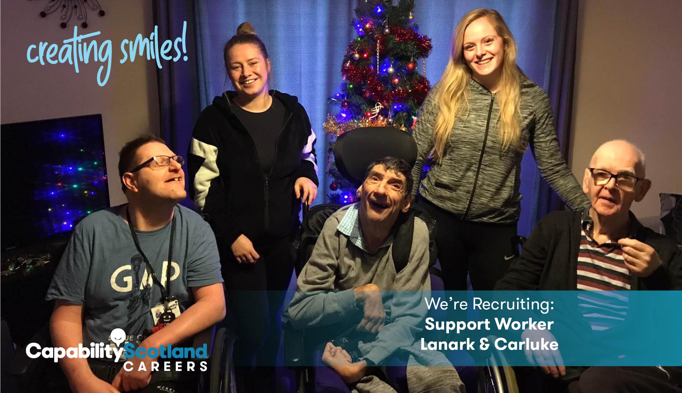 Lanark Houses Support Worker 3
